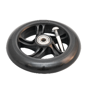 Y Fliker 125mm Wheel Black