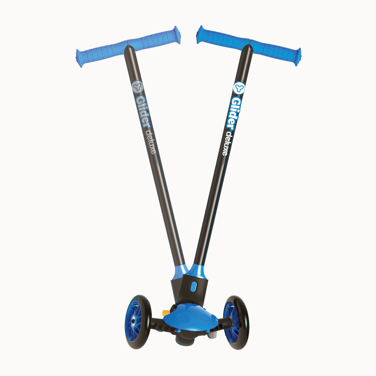 Y Glider Deluxe Kids Scooter Blue