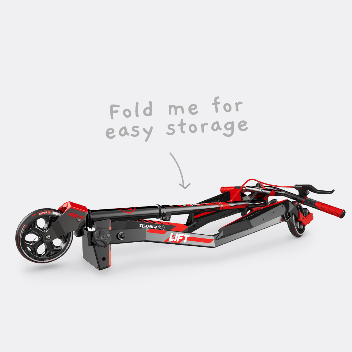 Fold me for easy storage