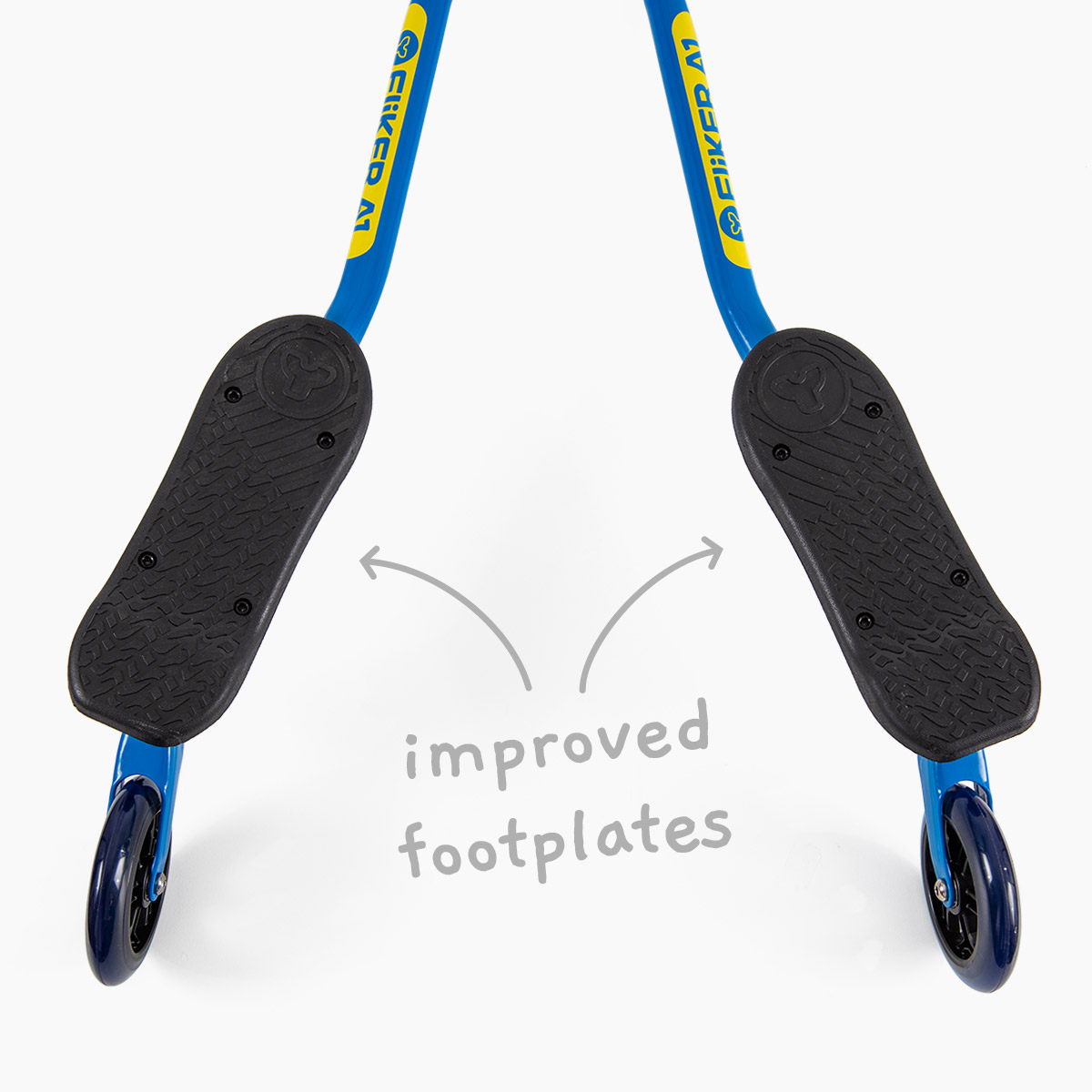 Improved footplates for maximum control