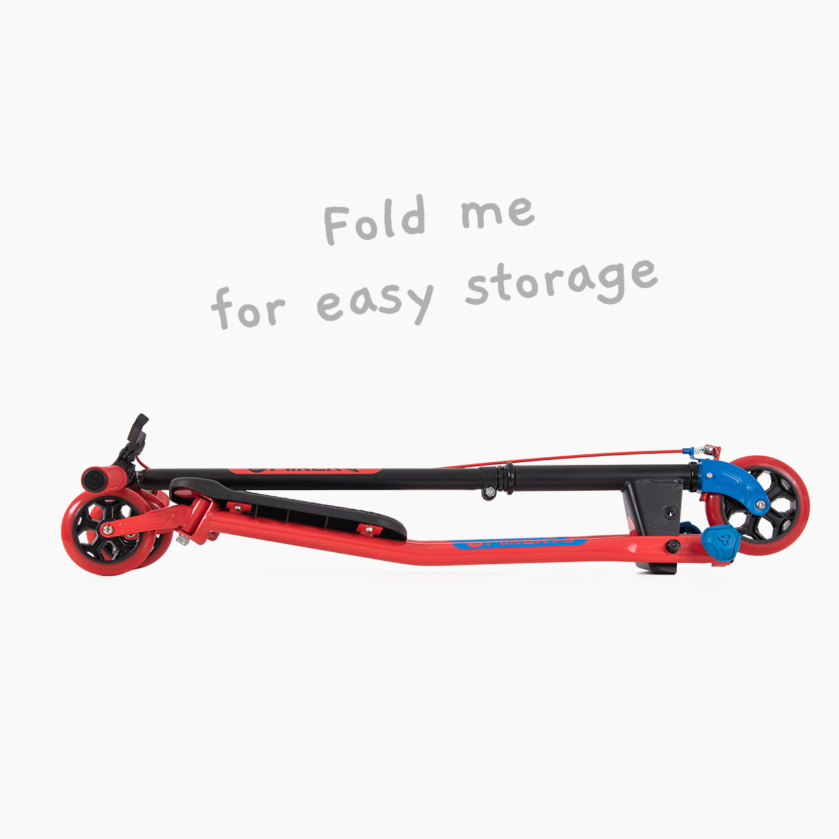 Folding system for storage